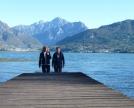 i monti e il lago di Annone