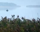 Varco tra la penisola di Isella e Annone, un tempo attraversato dal ponte Romano sommerso
