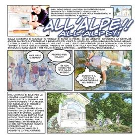 esploratori a fumetti - all'alpe