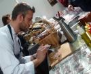 Luca Mozzanica e il suo cappuccio di Collinetta profumato al caffè