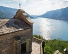 Il lago di Como da Quarzano di Pognana ( chiesa di San Rocco)