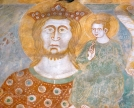 Affresco di San Cristoforo-chiesa di San Miro  a Rovasco di Pognana