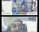 Alessandro Volta e il faro Voltiano su banconota da 10.000 lire ( fonte wikipedia)