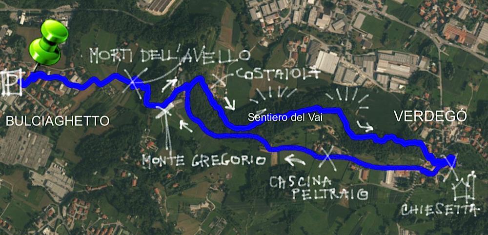 Il parco della valletta exploratori della for Planimetrie di 1500 piedi quadrati