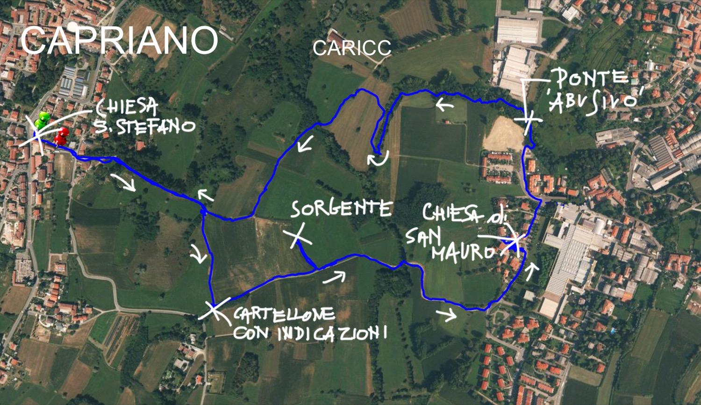 Mappa Capriano _1500